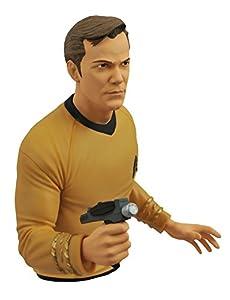 Diamond Select Toys Star Trek: The Original Series: Captain Kirk Vinyl Bust Bank