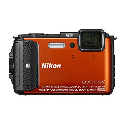 nikon-coolpix-aw130-160-megapixel-waterproof-digital-camera-orange