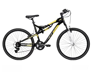 Huffy Mens DS-5 Mountain Bike, Gloss Black, 26-Inch Medium by Huffy
