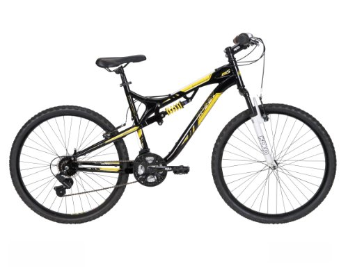 Huffy Men's DS-5 Mountain Bike, Gloss Black, 26-Inch/Medium