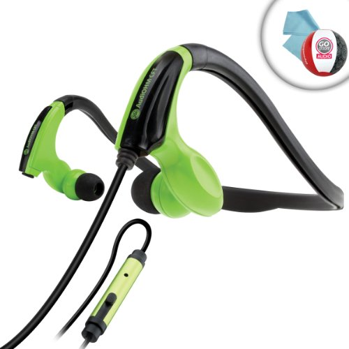 Gogroove Audiohm Cft Athletic Training In Ear Headphones For Active Lifestyles - Works With Pono Player , Sandisk Santa Clip+ , Sandisk Sansa Clip Zip , Apple Ipod Touch Nano Classic Shuffle And Many More!