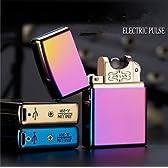 MIDORI USB充電プラズマライター 高級ライター■5種類から選べる!ケース入りなので贈り物にも、クリスマスプレゼントなどにもぴったり! おしゃれ 電子パルスライター zippo ジッポライター風モデル (C)
