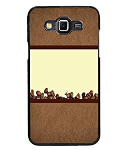 PrintDhaba Coffee Beans D-4320 Back Case Cover for SAMSUNG GALAXY GRAND 3 (Multi-Coloured)