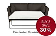 Fenton Medium Sofa Bed - Leather