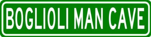 boglioli-man-cave-personalized-last-name-street-sign-heavy-duty-9x36-quality-aluminum-sign
