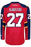 Florida Panthers Rookie Nick BJUGSTAD #27 Official Home Reebok NHL Hockey Jersey (SEWN TACKLE TWILL NAME / NUMBERS) at Amazon.com