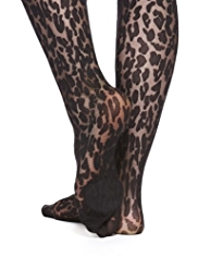 Hi Heel™ Hosiery Cushioned Animal Design Tights