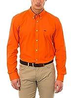 McGregor Camisa Hombre Paul Spw Uni B Bd Cf Ls (Naranja)