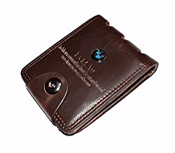Finz Mens Wallet Dark Brown Casual