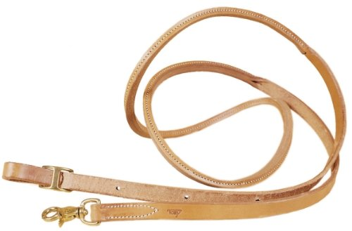 Tory Harness Leather Rolled Contest Rein