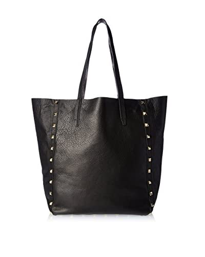 Kenneth Cole New York Women's Double Take Reversible Tote, Black/Pewter