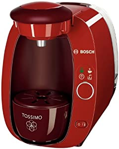 Bosch Tassimo Coffee Maker Lights : Bosch T-Disc Coffee machine Tassimo TAS2005 - indian summer red: Amazon.co.uk: Kitchen & Home