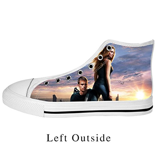 Fashoes Custom Divergent Women's Nonslip Canvas Shoes High Top Sneakers