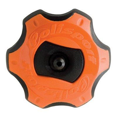 Polisport Gas Cap Orange/Black KTM