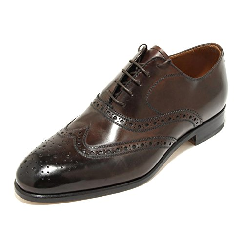 2121G scarpa marrone CAMPANILE francesina uomo shoes men [6.5]