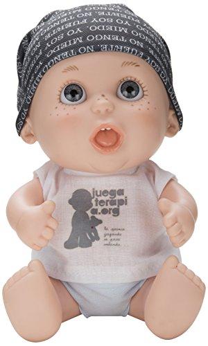 Juegaterapia - Muñeco Baby Pelón Hombre de Negro (Berjuán 0143)