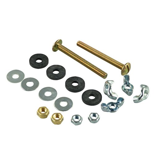 Danco 88910 5/16-By-3-Inch Toilet Tank-To-Bowl Bolts front-435647