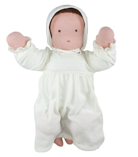 "Waldorf Baby Doll, 15"", Brunette front-1049859"