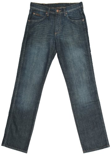 Wrangler Arizona Straight Men's Jeans Grey 30W x 34L