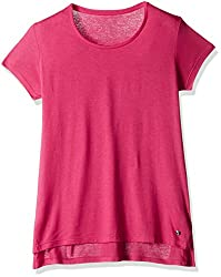Deal Jeans Women's Body Blouse Top (20444_Pink_Large)