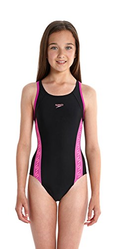 speedo-girls-monogram-muscleback-swimsuit-black-diva-princess-pink-size-30