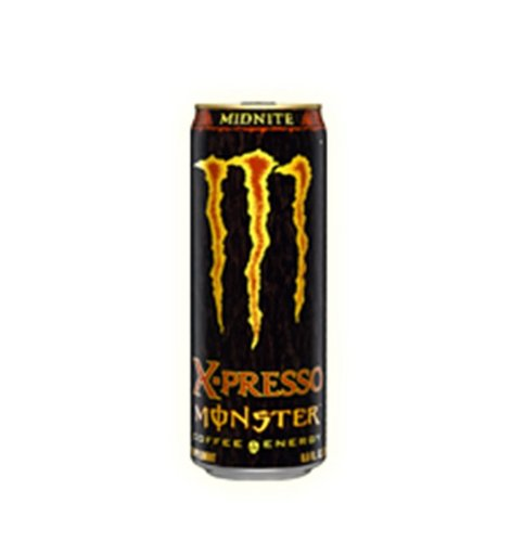 Monster X-presso Coffee Energy Drink, Midnite, 9.6-Ounce Cans (Pack of 12)