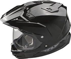 Fly Racing Face Shield for Trekker Helmet - Purple Mirror 73-3936
