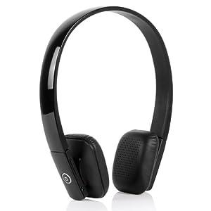Bluedio DF610II Bluetooth Stereo Kopfhörer Built in Mikrofon unterstützt Musik Streaming On Ear Kopfhörer (Schwarz)