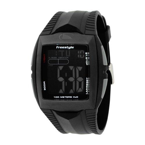 Freestyle Men's FS81285 Shark Buzz 2.0 Custom Rectangle Digital Vibrating Alarm Watch