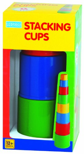 megcos Stacking Plain Cups, 8-Piece