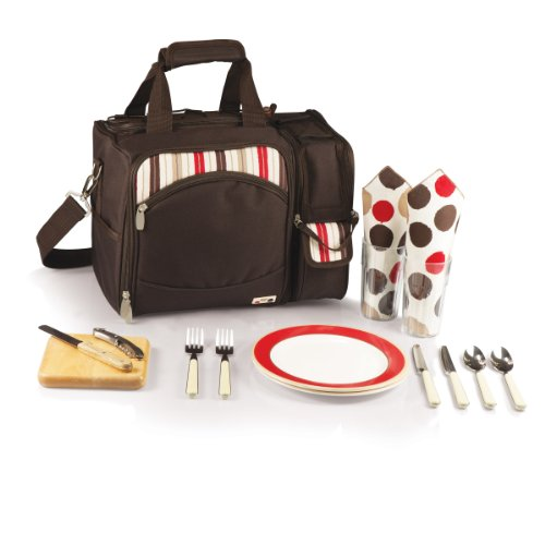 Why Should You Buy Picnic Time Malibu Insulate Cooler Picnic Tote-Moka