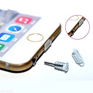 Anti Dust Plugs for Apple iPhone 5 5s 6 6s 6 Plus ( 20 Pairs)