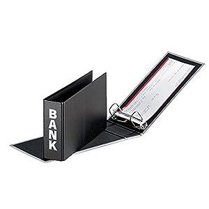 Amazon.com : PAGNA Bankordner Quadro, schwarz : Office Products
