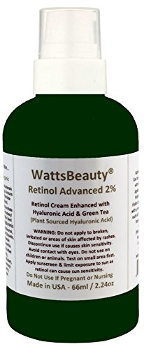 Watts Beauty WB2%RetCream2oz Moisturizer
