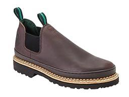 Georgia Giant Men\'s Romeo Slip-On Work Shoe,Brown,16 M