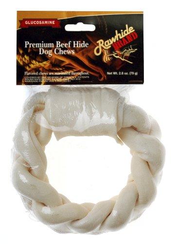 Rawhide Brand 5-Inch By 1.3-Inch Glucosamine Braided Ring, Shr/Hdr