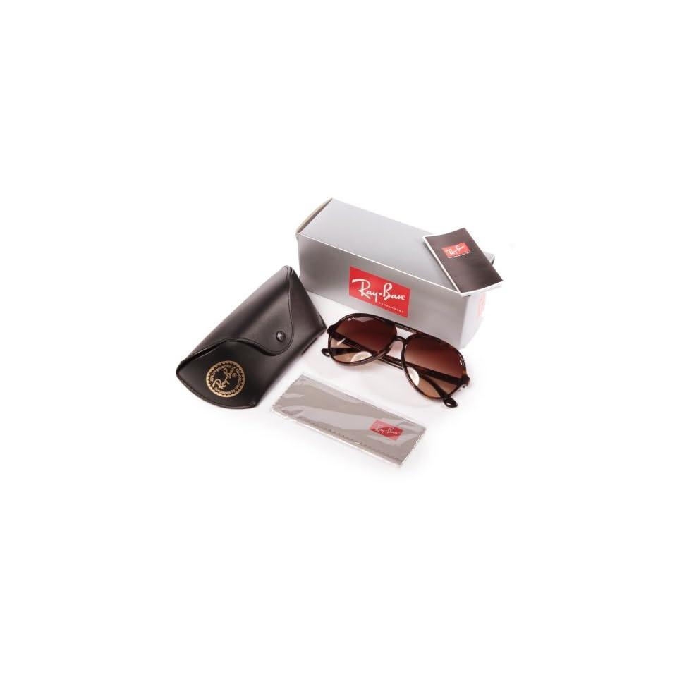 a484d58e14f Ray Ban RB4125F Cats Sunglasses 902 13 Havana (Brown Gradient Lens) 59mm
