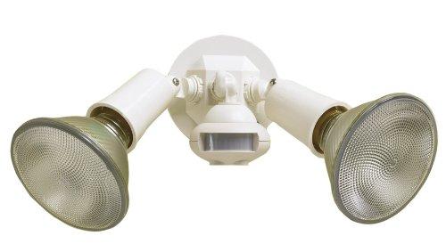 Cooper Lighting Ms34W 110 Degree Motion Detector Floodlight, White