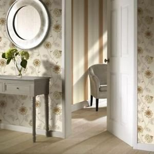 Gran Deco Jasmine Wallpaper - Rust from New A-Brend