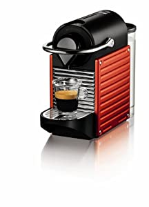 Nespresso Pixie Espresso Maker, Red