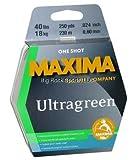 Maxima Fishing Line One Shot Spools, Ultragreen, 35-Pound/250-Yard