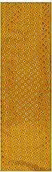 Pari Collection Women's Silk Unstitched Kurta Material (Yellow)