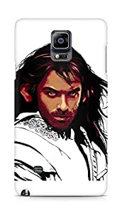 Amez designer printed 3d premium high quality back case cover for Samsung Galaxy Note 4 (The hobbit tribute)
