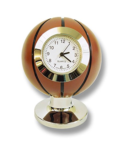Miniature Basketball Desktop Quartz Clock