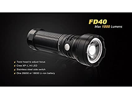 Fenix FD40 LED Torch Lighgt