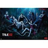 True Blood (Season 3, Do Bad Things) TV Poster Print - 24x36 People Poster Print Poster Print, 36x24 Poster Print, 36x24