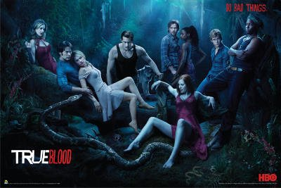 True Blood (Season 3, Do Bad Things) TV Poster Print - 24x36 People Poster Print Poster Print, 36x24 Poster Print, 36x24