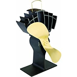 Caframo Ecofan Original, Black with Gold Blade