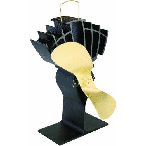 Caframo Ecofan Original, Black With Gold Blade