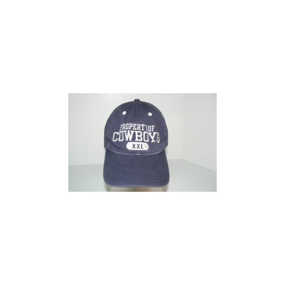 NFL Property Of Dallas Cowboys XXL Slouch Fit Hat Cap Lid on PopScreen 084aedd8698